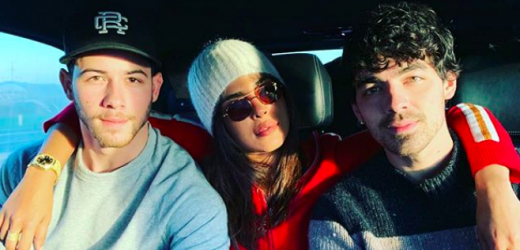 Nick and Priyanka Are Spending Their First Married Xmas with Sophie and Joe!