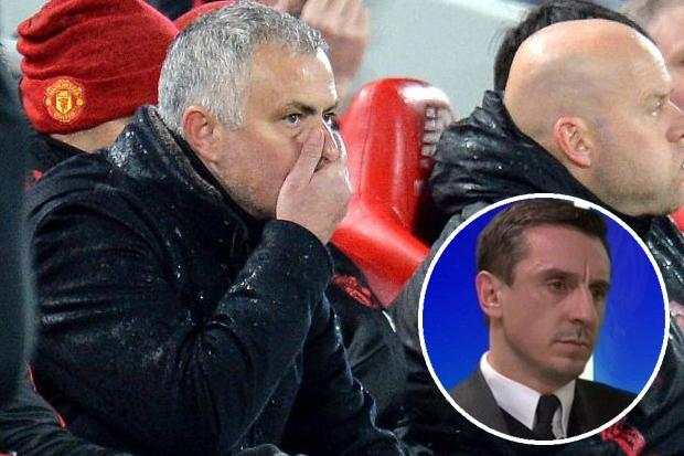 Jose Mourinho will be sacked by Man Utd soon, believes Gary Neville