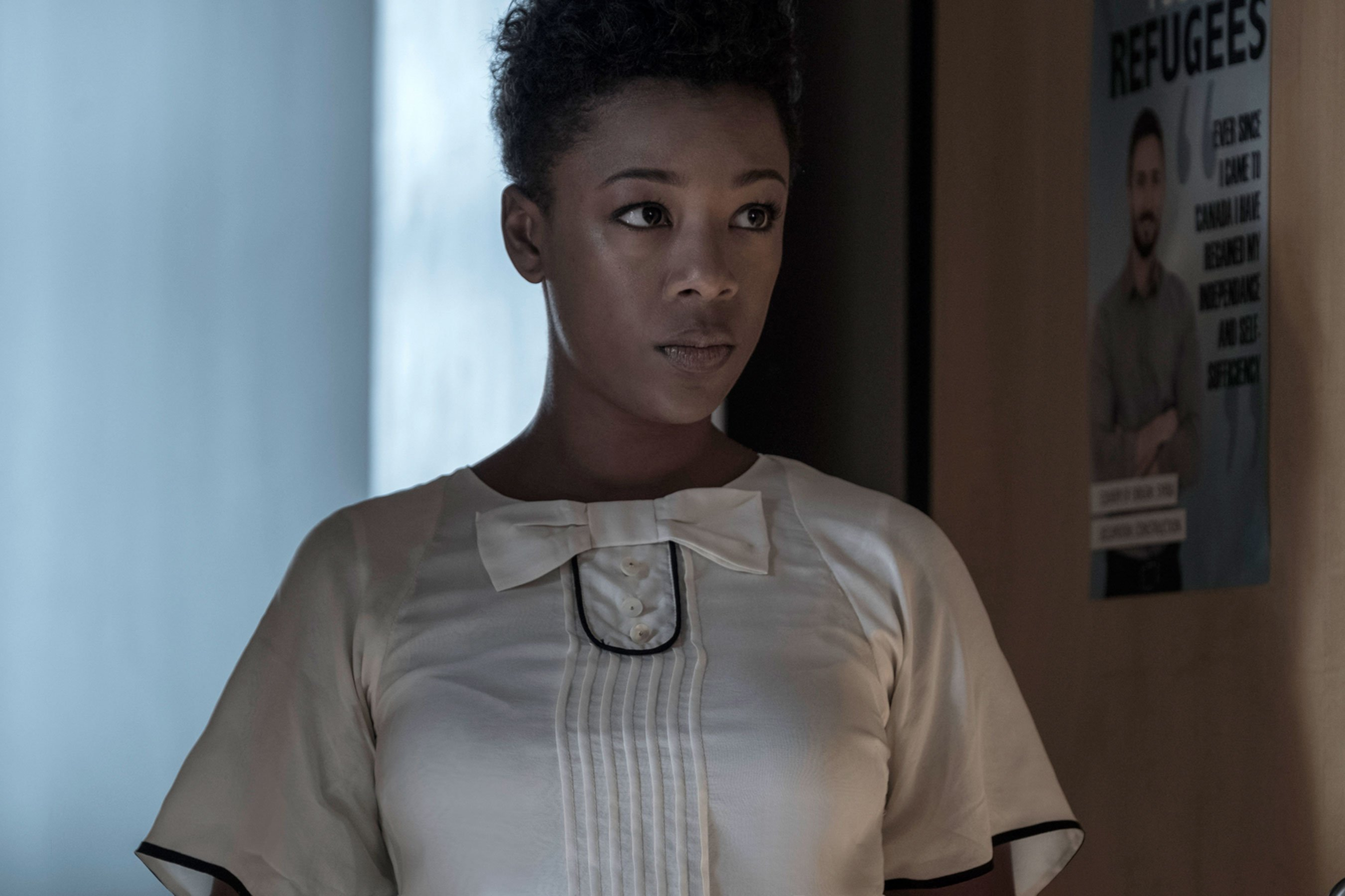 The Handmaid's Tale: Samira Wiley on the pain of refugee life