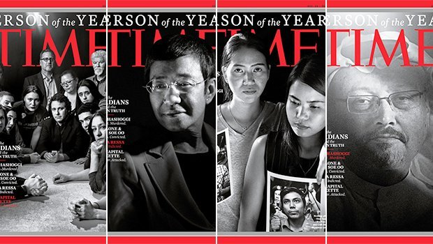'TIME' Person Of The Year: Group Of Journalists — 'The Guardians' — Named Most Influential Of 2018
