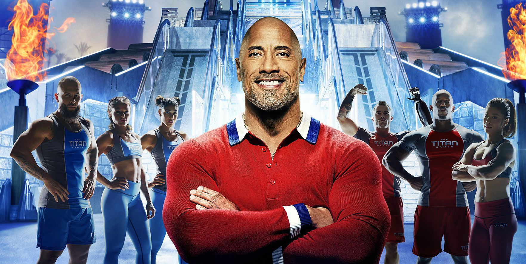 We've Got the First Look at All of the Competitors on The Rock's New Fitness Show
