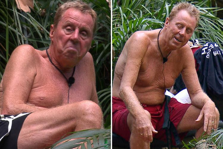 I'm A Celeb bosses fear for Harry Redknapp's health as he's refusing to eat and struggling for energy prompting extra medical checks and concern he won't make final