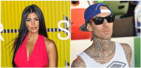 Kourtney Kardashian & Travis Barker Fuel Dating Rumors With Joint-Family Outing