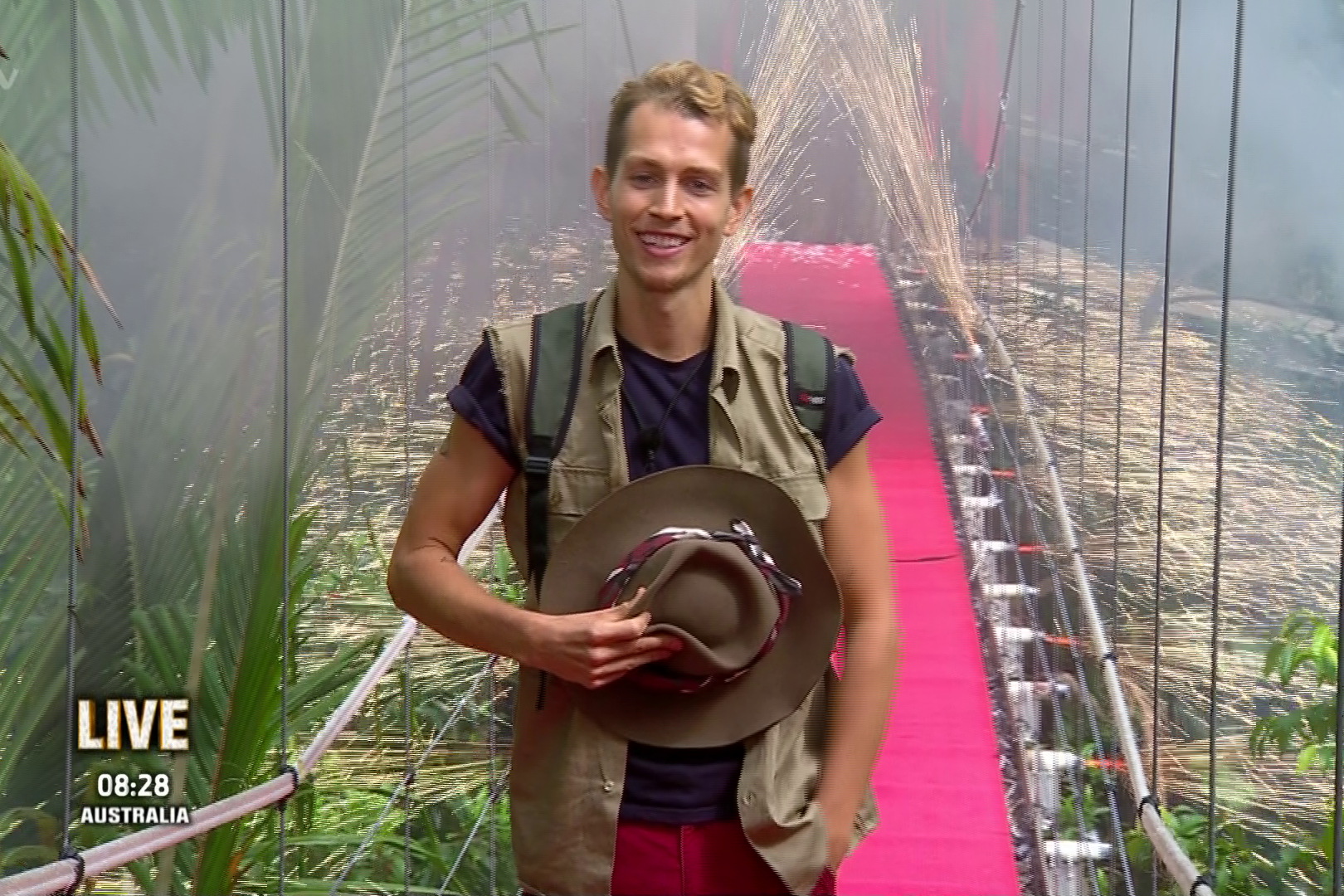 James McVey is evicted from I'm A Celebrity just two days before the final