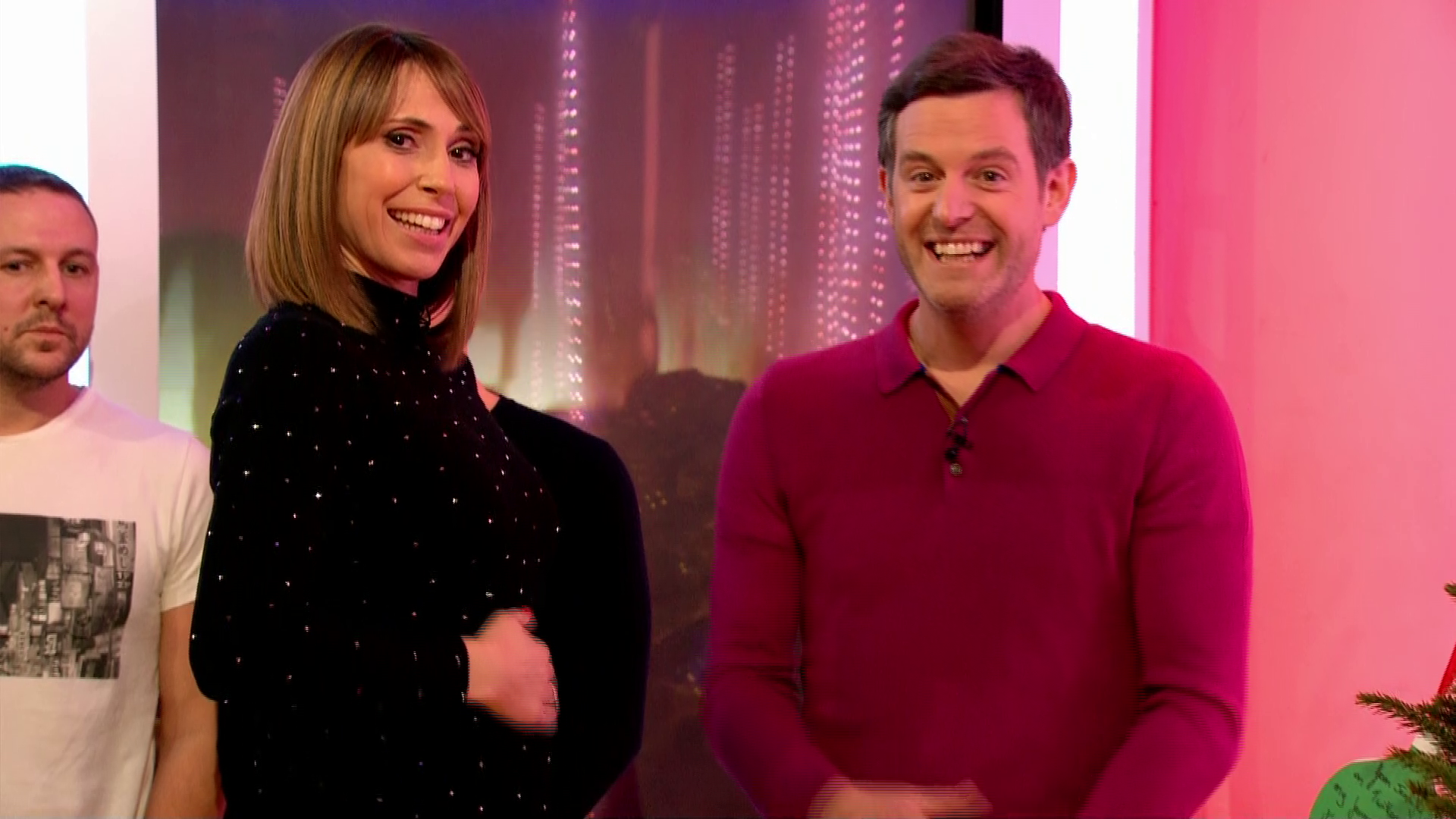 Alex Jones announces she's pregnant with her second child live on The One Show