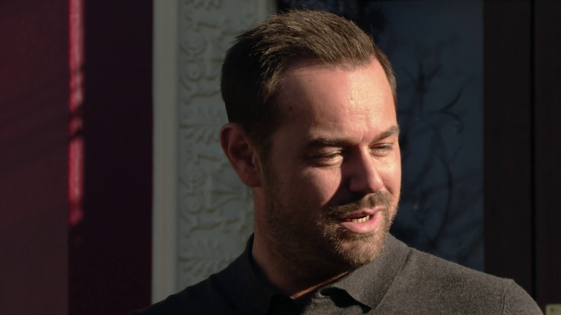 EastEnders' Mick Carter returns from prison with a 'smashing tan' after three months inside