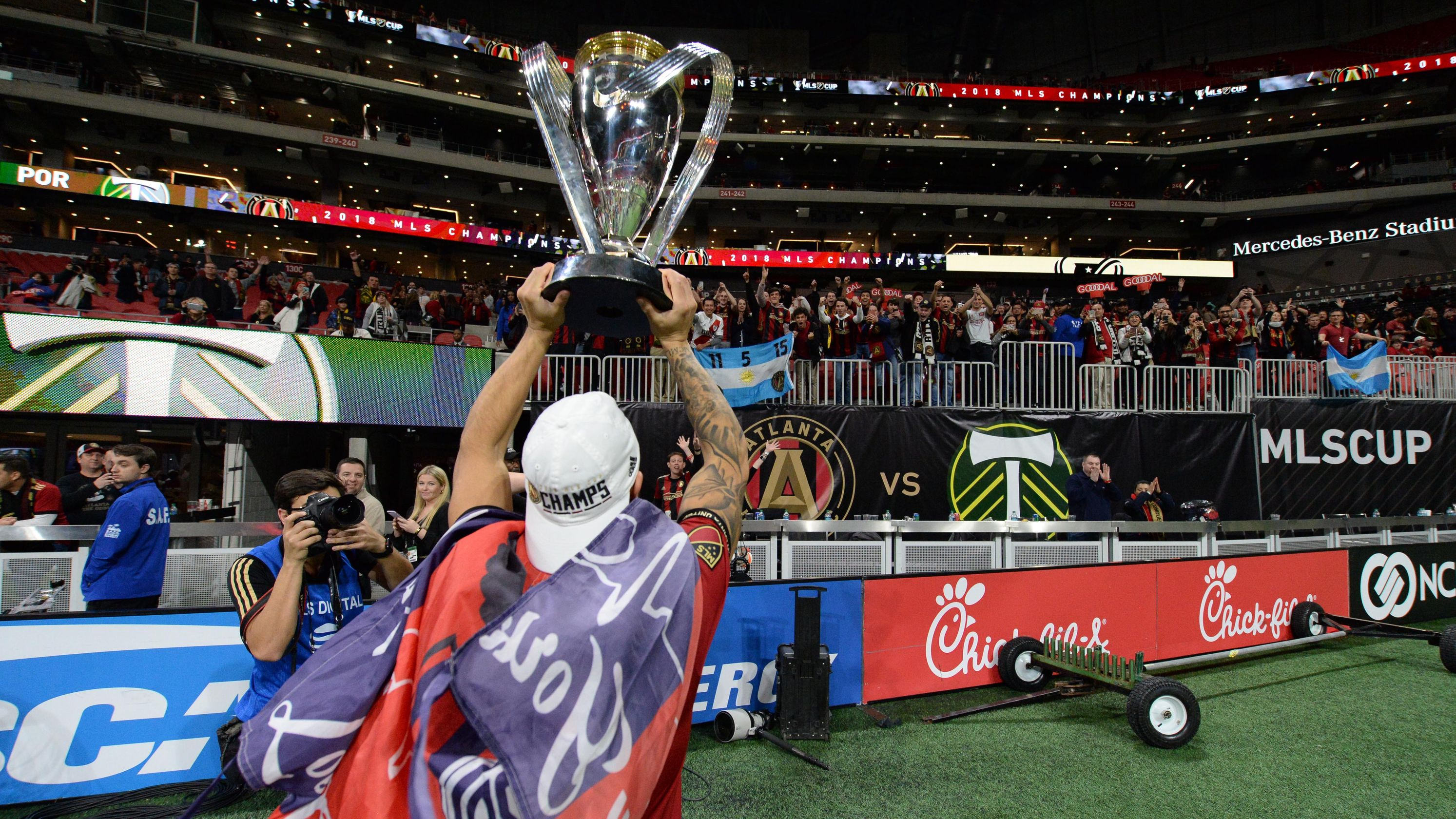 Atlanta United delivers needed championship to city that has embraced it like no other