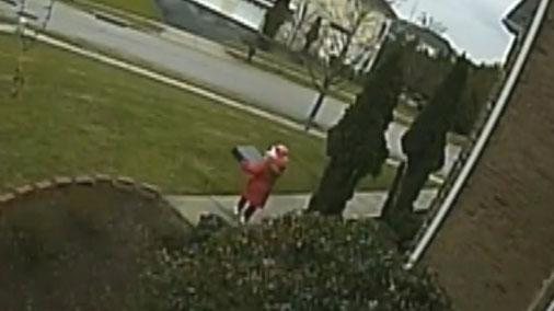Maryland girl ordered to steal package from porch, investigators say