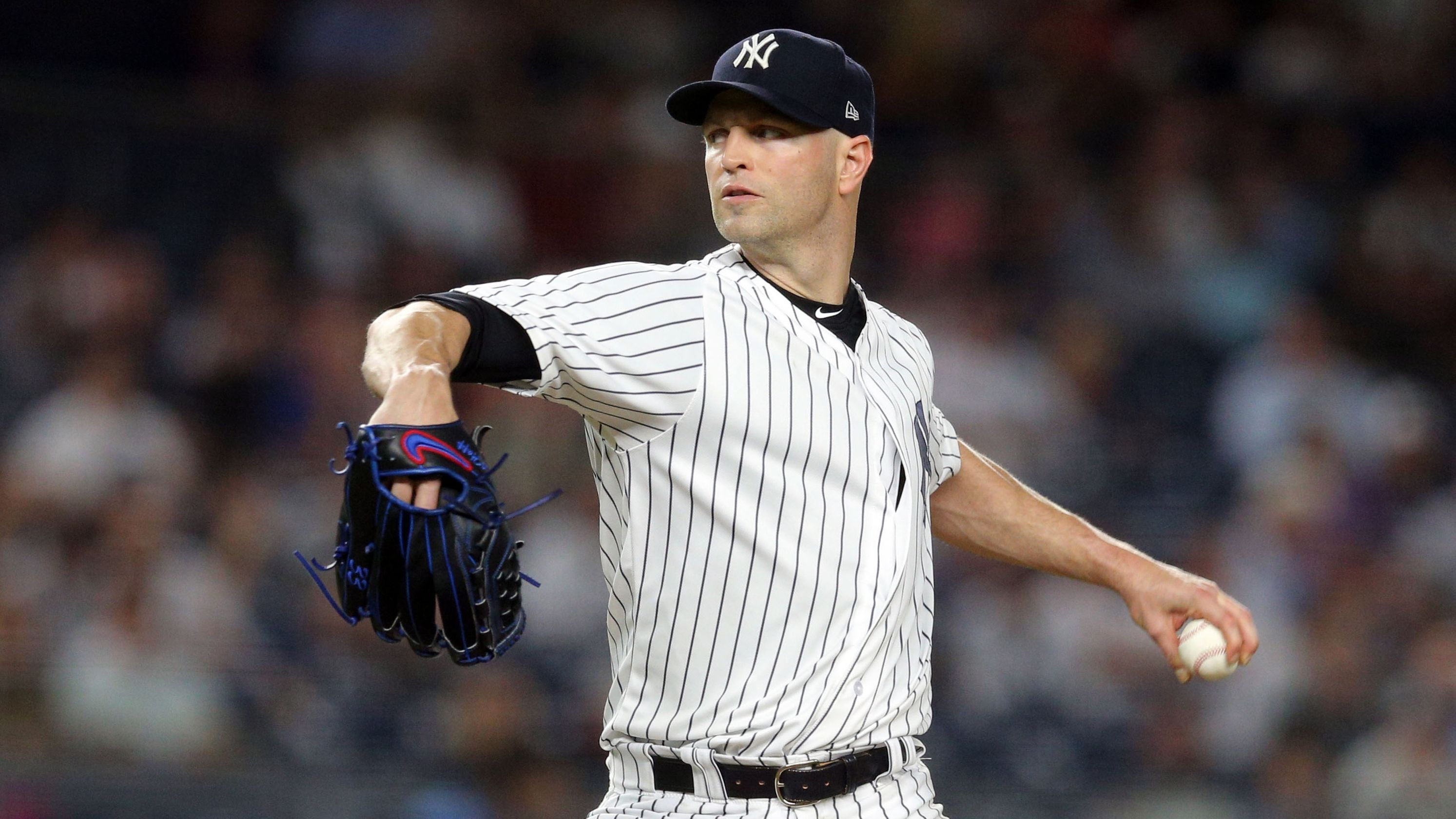 Yankees close to re-signing left-hander J.A. Happ; Manny Machado next?