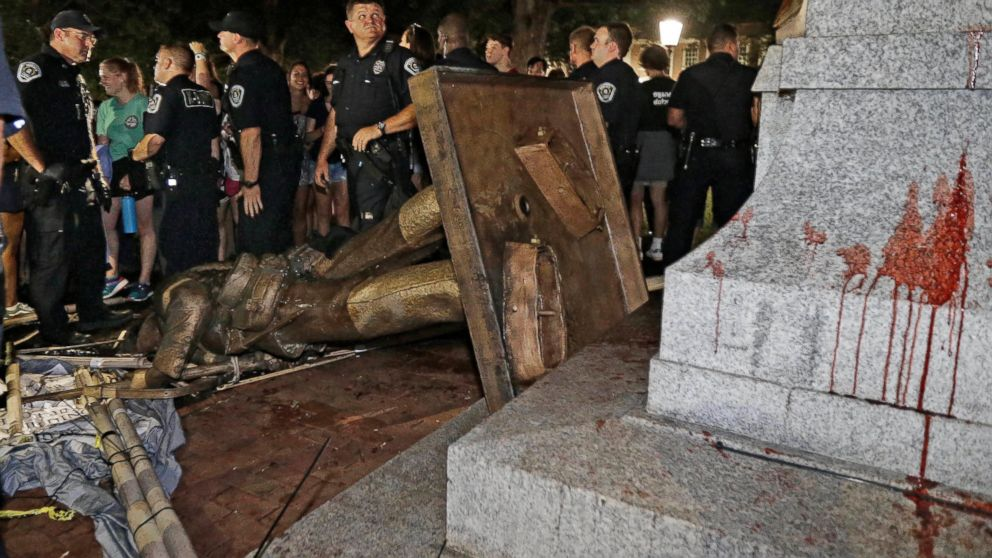 UNC leaders to vote on plan for toppled Confederate statue