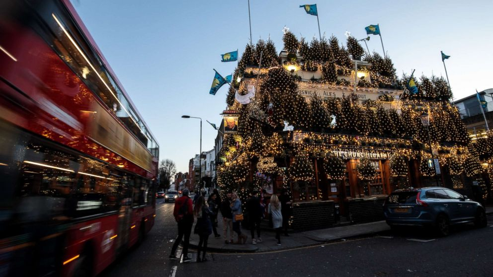 'Most festive pub' in UK displays 97 Christmas trees, 21,500 holiday lights