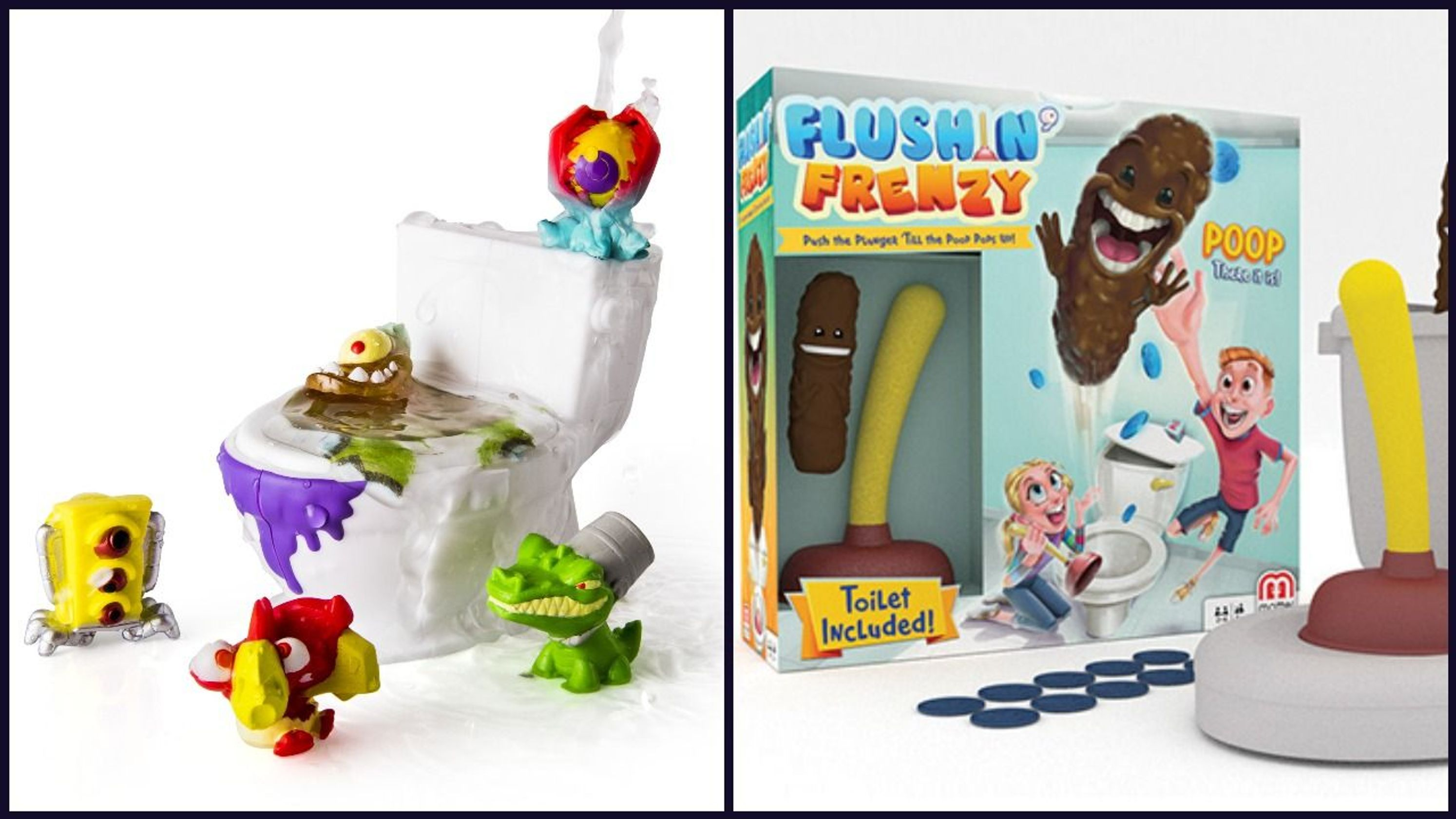 Flying poop, fart collectibles and pimple poppers: This year's toy trend is totally gross