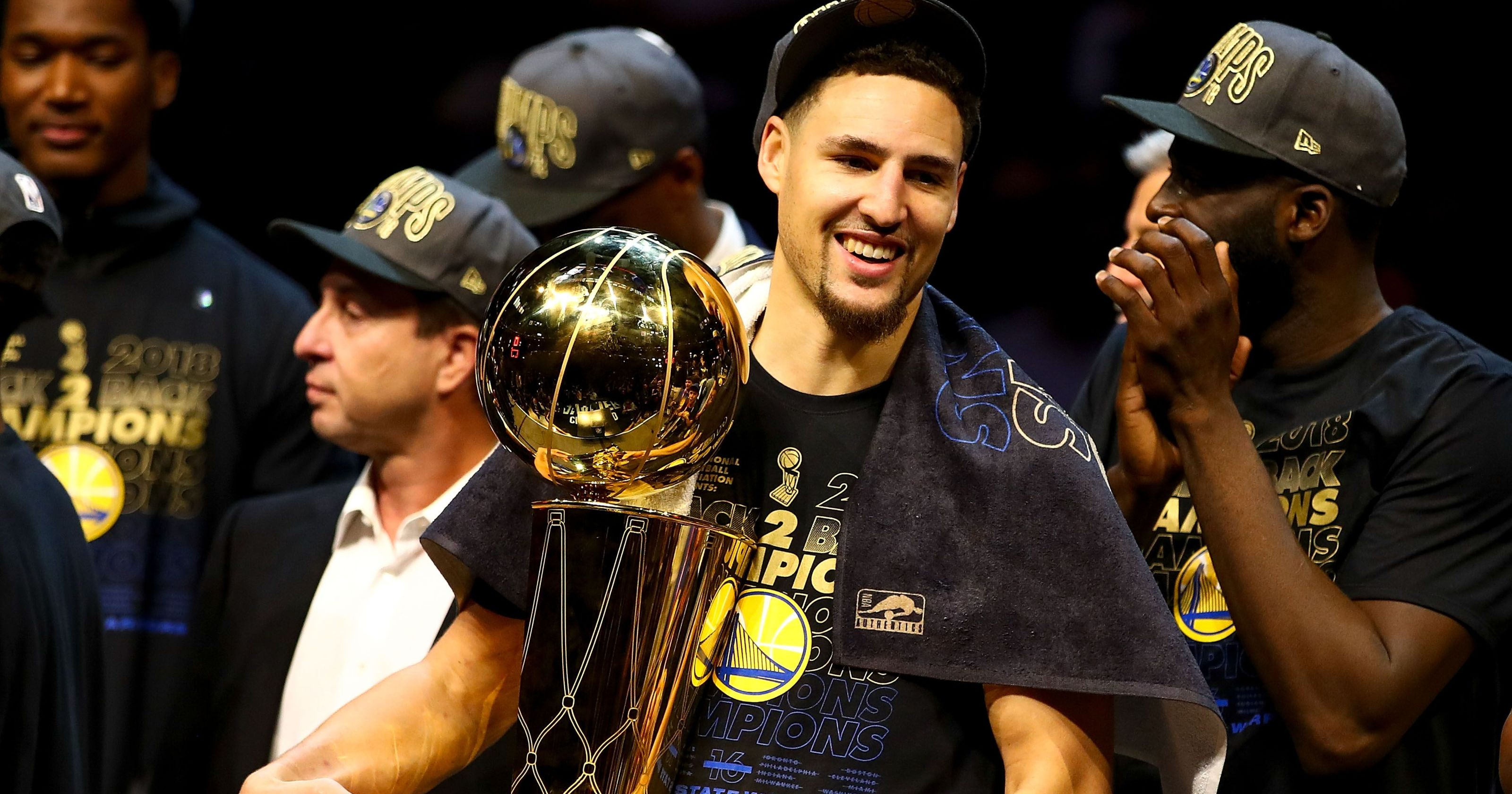 Klay Thompson calls Cavs 'idiots' about 3-1 pettiness