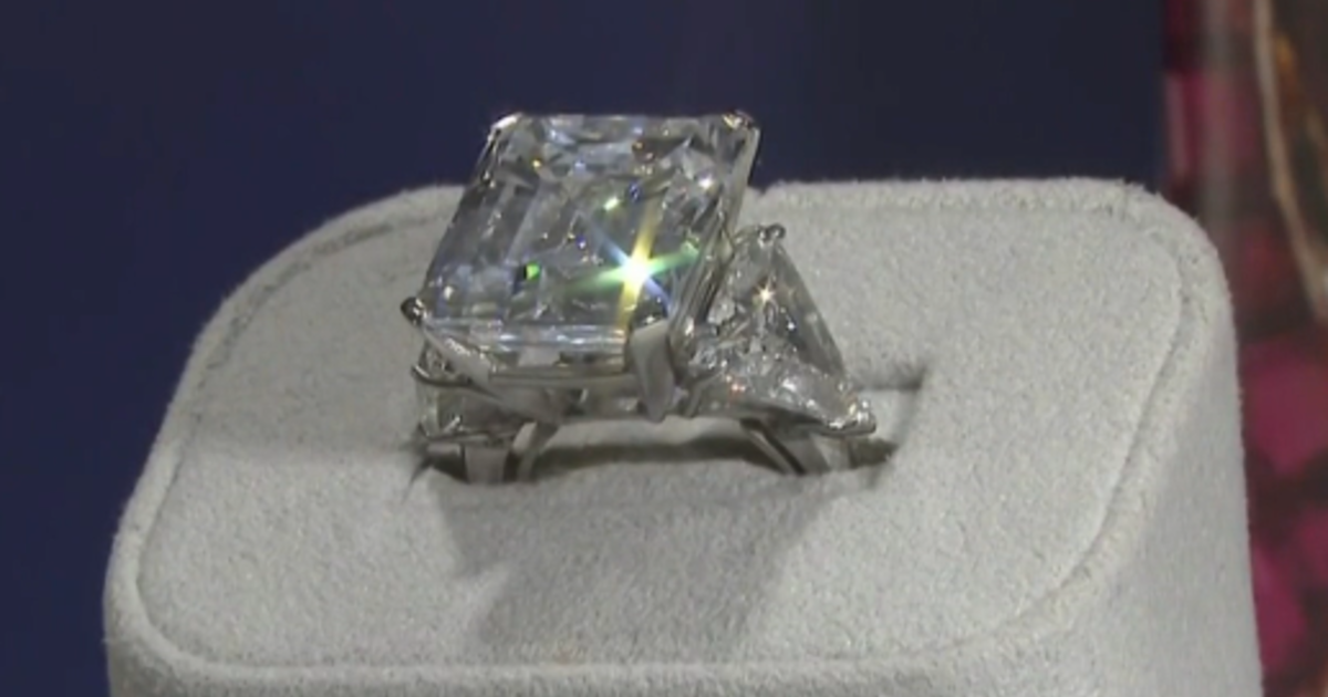 Engagement ring Frank Sinatra presented to his fiancee fetches nearly $1.7 million at auction