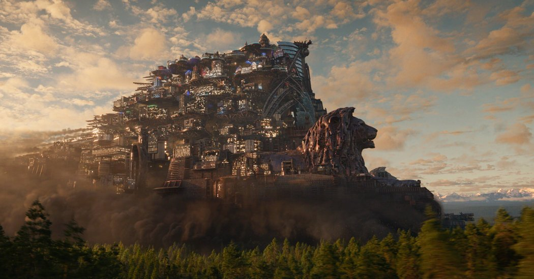 'Mortal Engines': How the Filmmakers Created a Roaming London
