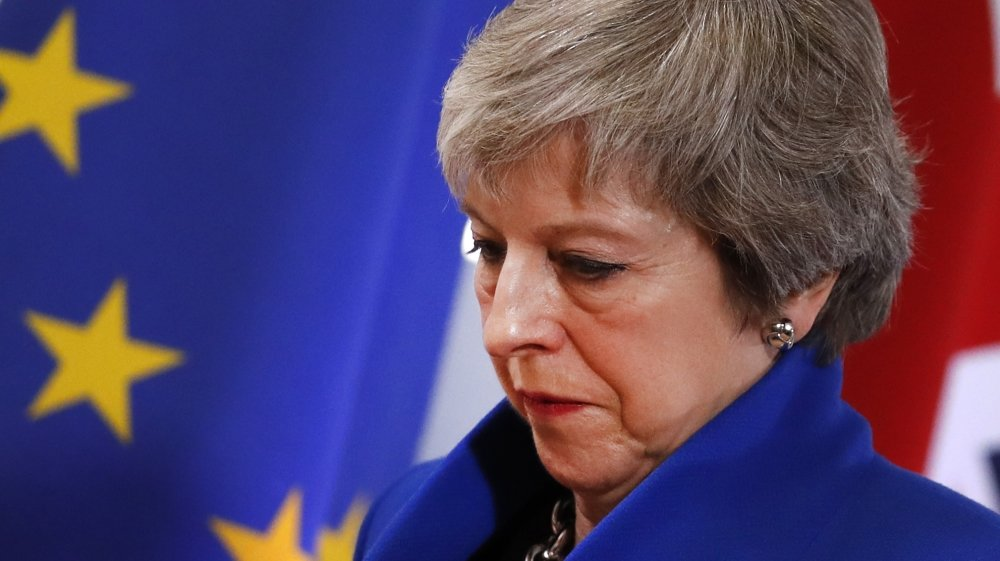 Burdened with Brexit, Prime Minister Theresa May is on the brink