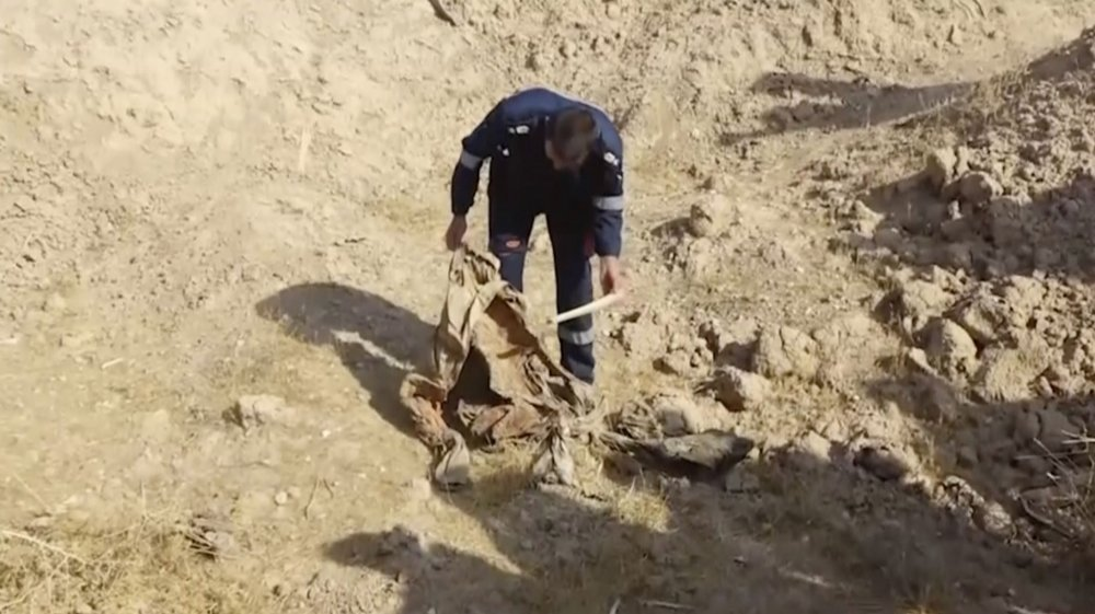 Mass grave discovered in Iraq's northern Kirkuk province