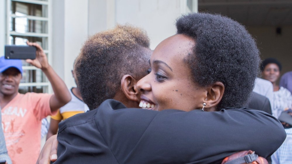 Rwandan court drops charges against opposition politician Rwigara