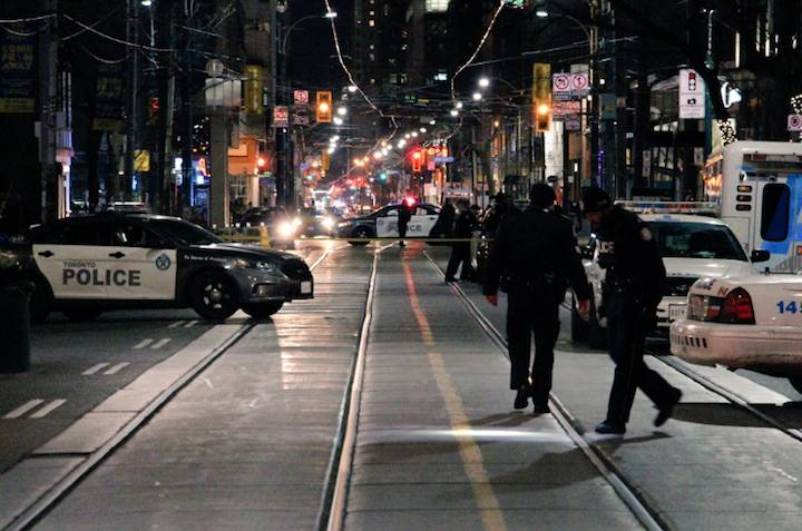 Man shot and killed on downtown Toronto street