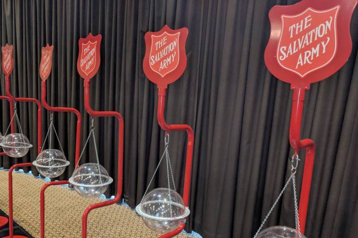 Salvation Army less than halfway to cash goal in Christmas campaign