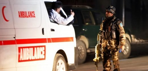 Militants storm government building in Afghan capital, take hostages