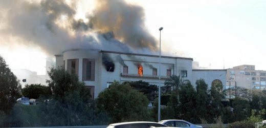 Several dead in suicide attack on Libyan foreign ministry