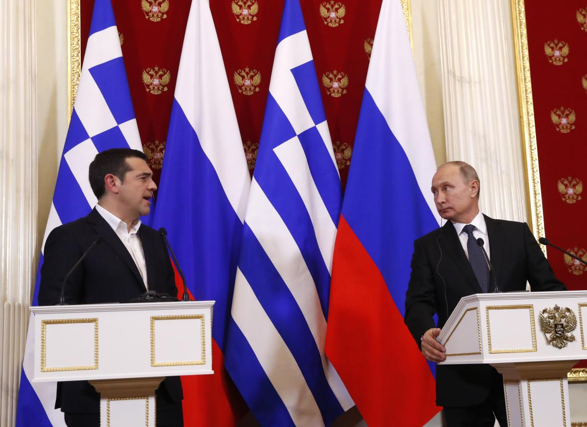 Russia and Greece want to make up after diplomatic row