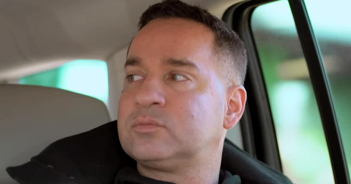 See Mike 'The Situation' Sorrentino's Emotional Final Moments Before Entering Prison