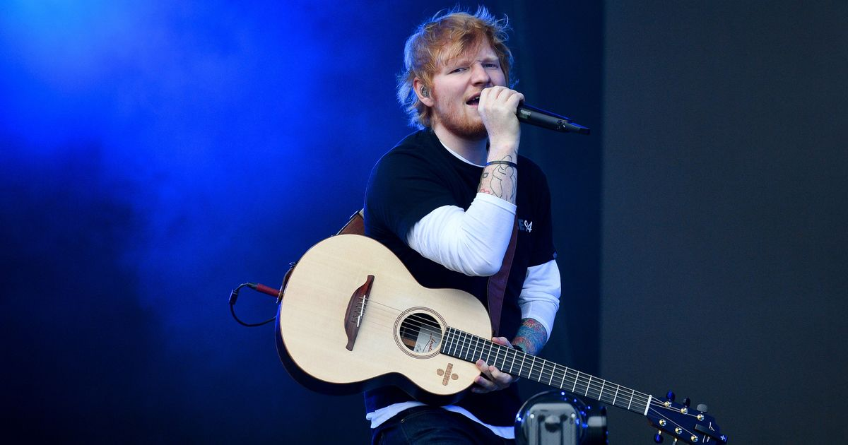 Ed Sheeran minted after record-breaking tour earns star a staggering £39m
