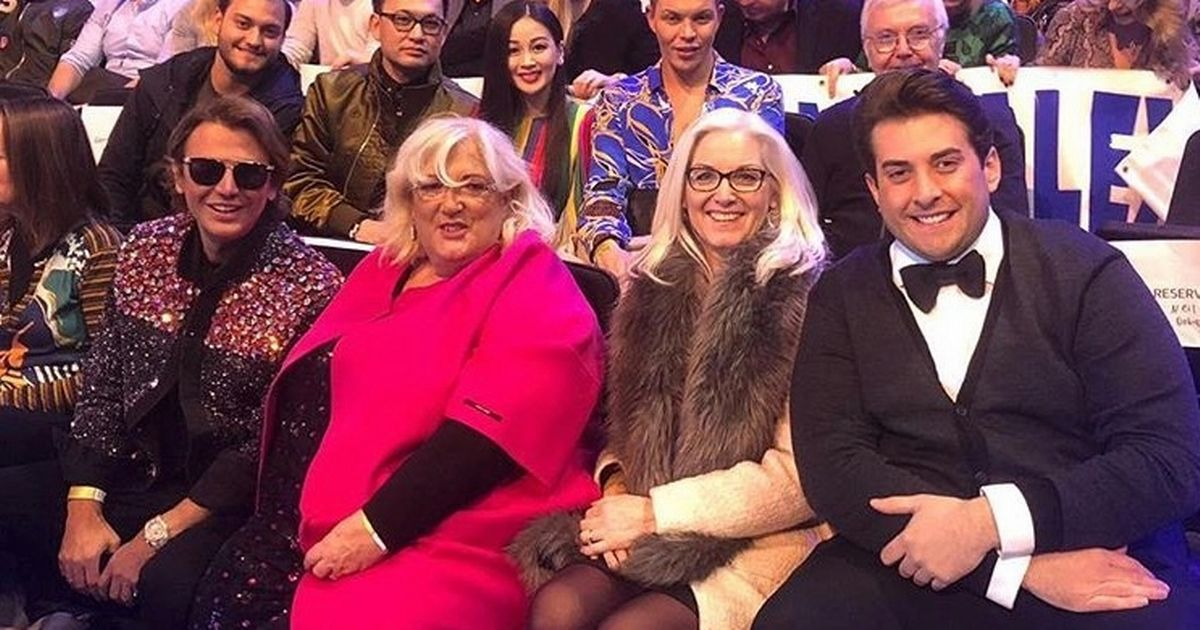 Gemma Collins' boyfriend Arg cheers her on at Dancing on Ice launch