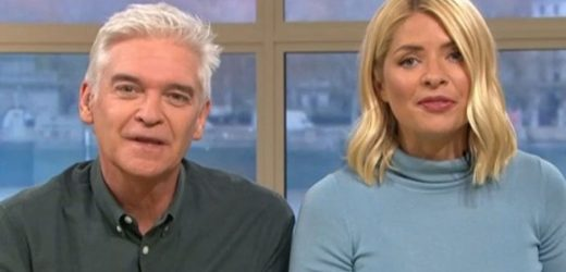 Holly Willoughby and Phillip Schofield finally reunited on This Morning