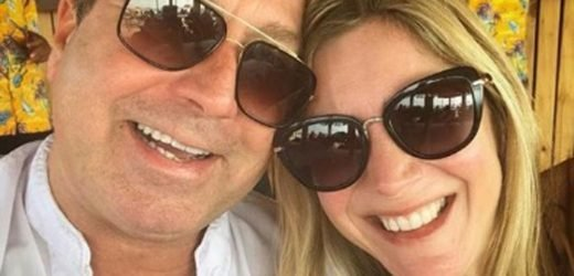 John Torode proposes to Lisa Faulkner with enormous engagement ring