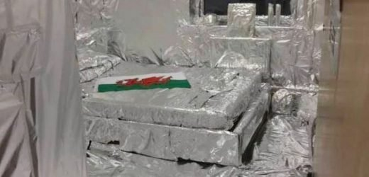 Man leaves his door unlocked and comes back to find everything covered in foil