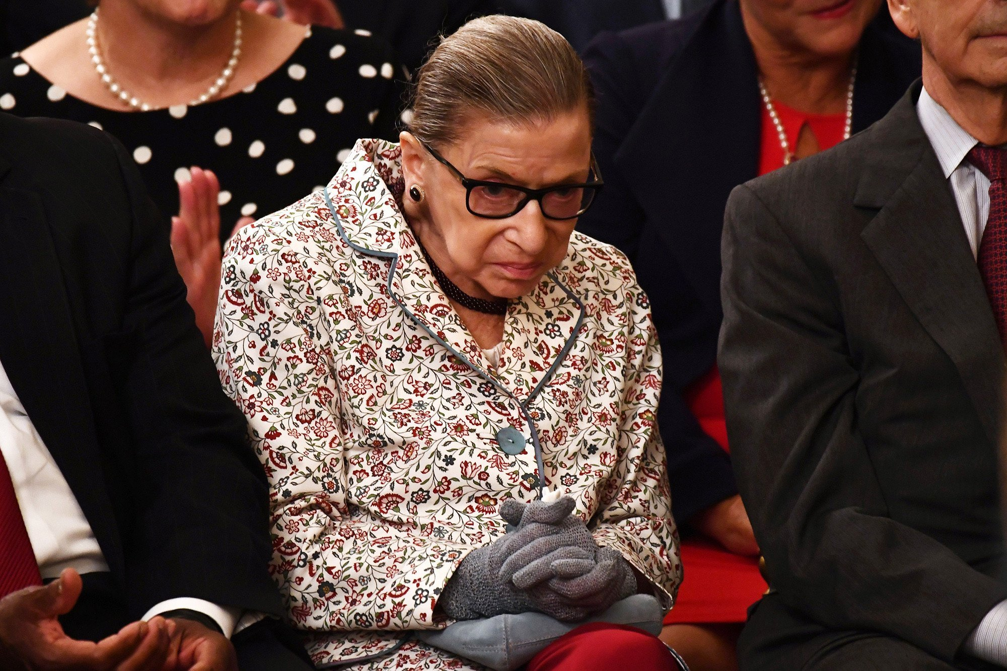Ruth Bader Ginsburg misses third straight day on the bench