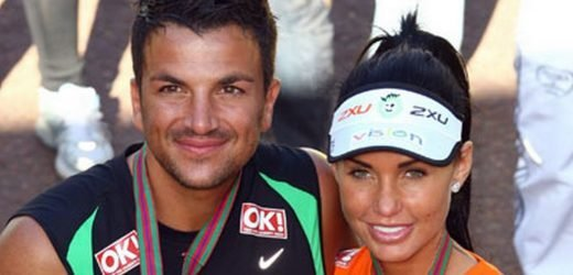 Katie Price blasts claims she's 'waiting' for Peter Andre's wife to leave him