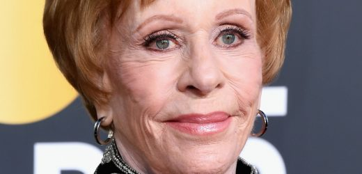 Carol Burnett's Golden Globes Speech Was Packed With Laughs & Memories