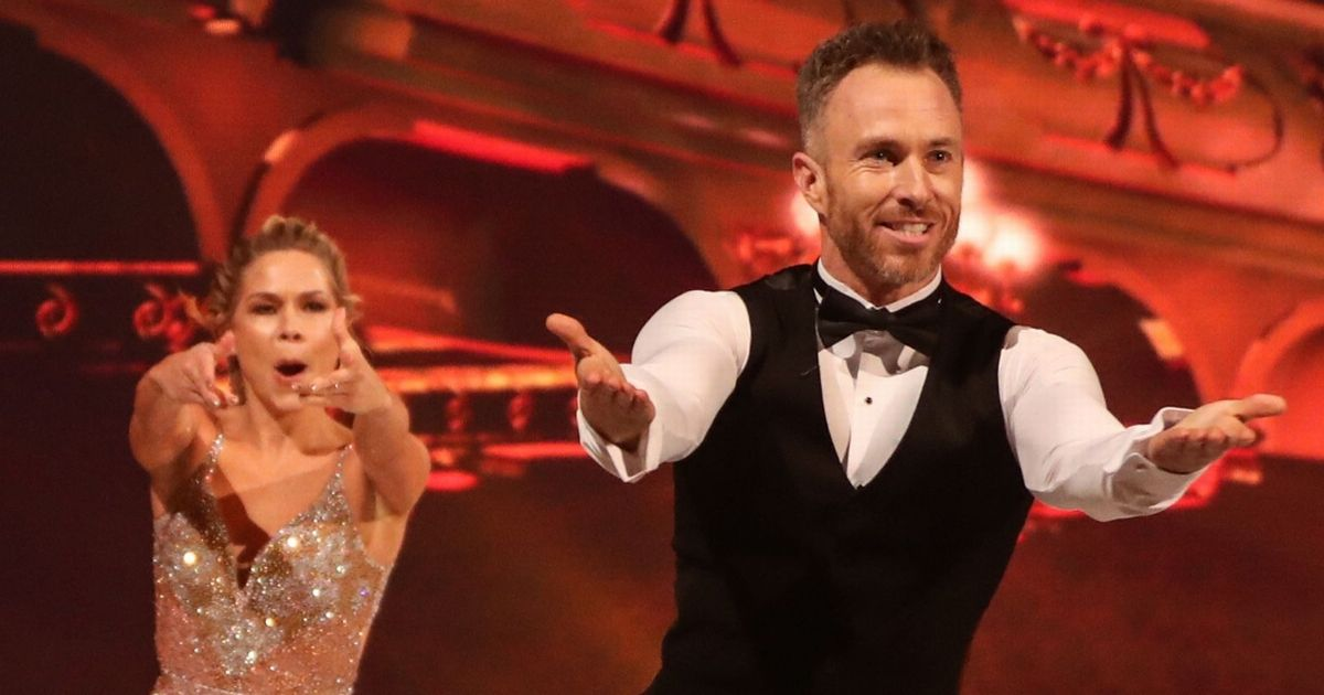 Dancing On Ice star James Jordan reveals he's lost two and a half stone