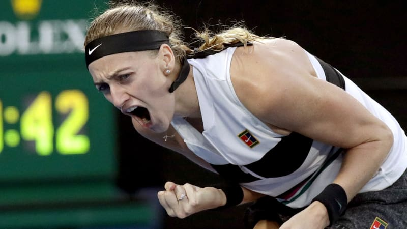 Kvitova savours her 'second career'