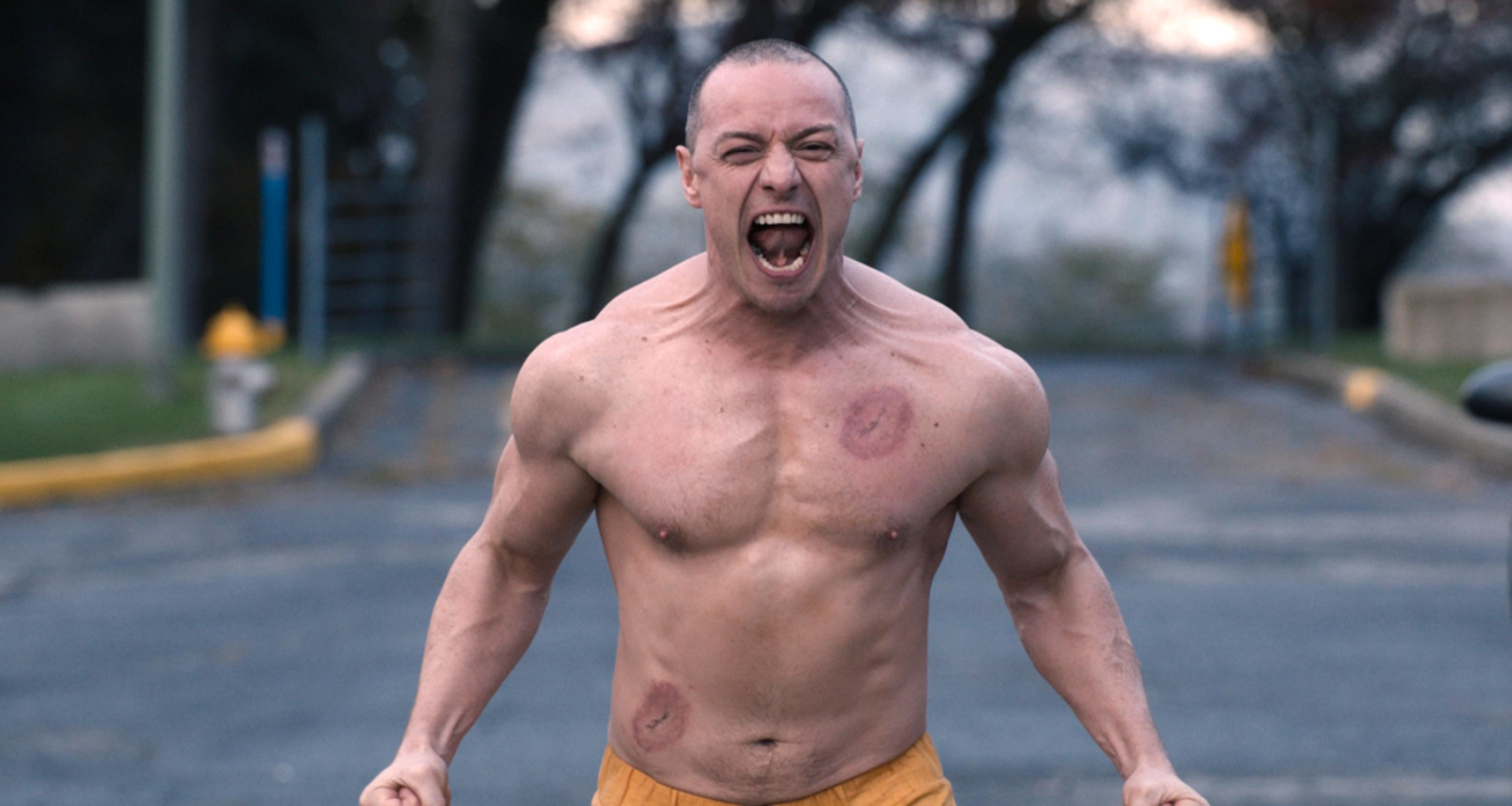 'Glass' clip: James McAvoy goes full 'Beast'