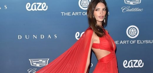 Emily Ratajkowski's Dress Has So Many Cutouts, She May As Well Be Wearing 1 of Her Swimsuits