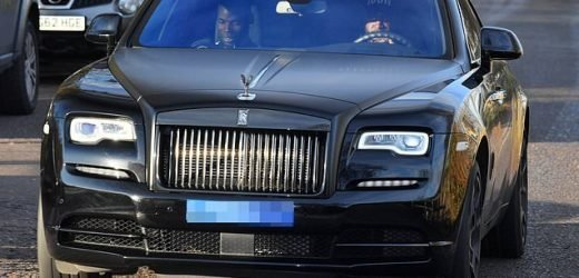 Paul Pogba's £250,000 Rolls-Royce seen parked in a disabled bay