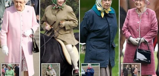 Queen has been reusing bags and shoes for over 50 YEARS