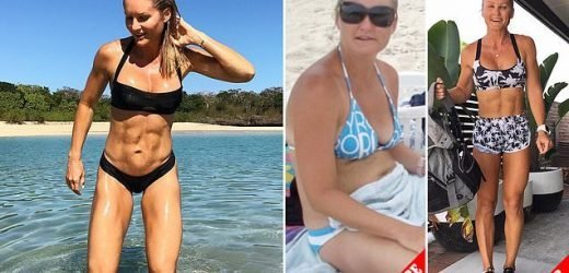 Mother, 41, with incredible physique shares her anti-ageing tips