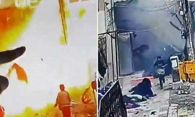 Video shows ISIS bomber kill two soldiers and two civilians in Syria