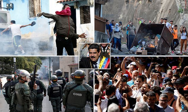 Venezuela rises against Maduro as hundreds of thousands due on streets