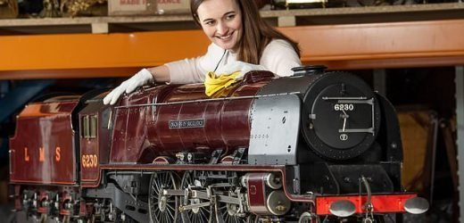 Model train is set to sell for record-breaking £200,000 at auction