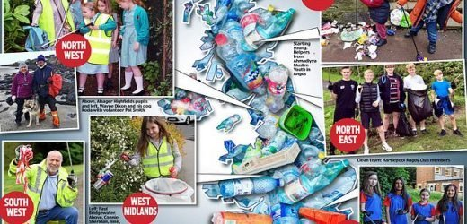 More than 14,000 people join Mail's litter clear-up in just 48 hours
