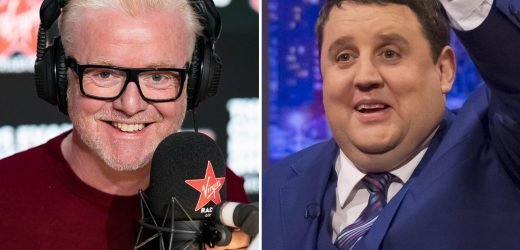 Chris Evans says Peter Kay is 'getting better' and could make big return to TV at tonight's National Television Awards