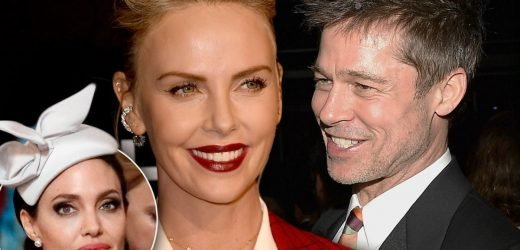 Brad Desperate To Keep Charlize Romance Quiet Until Divorce From Angelina Ends
