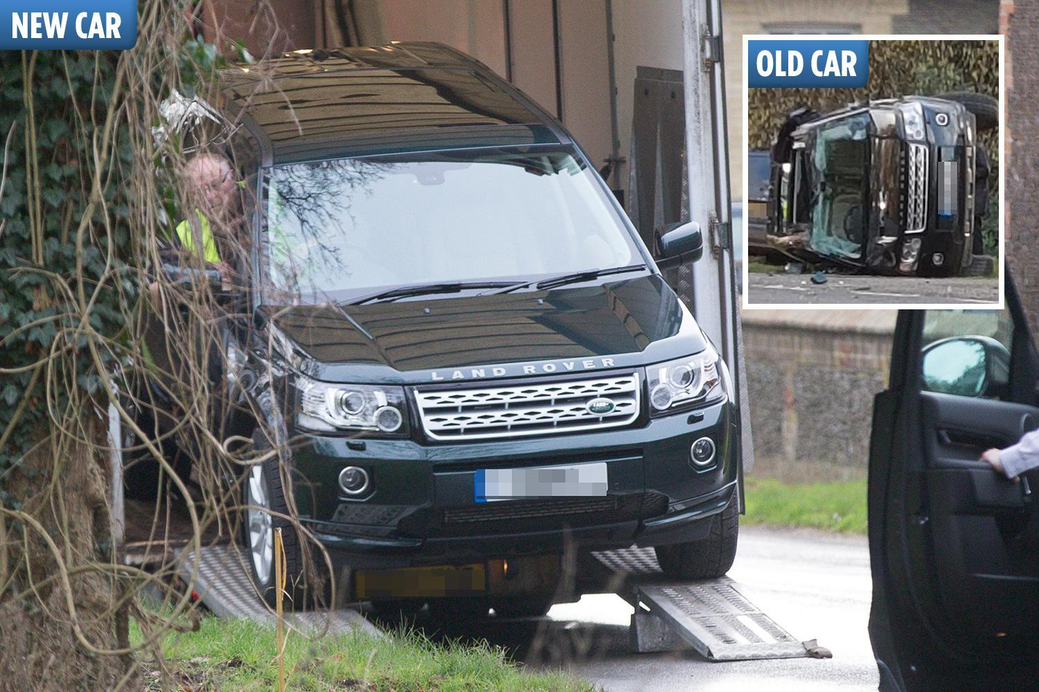 Prince Philip has top-of-the-range £68k Land Rover delivered to Sandringham just hours after nasty crash